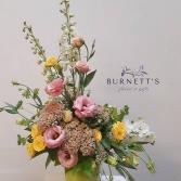 Designers Choice Valentines Vase Arrangement