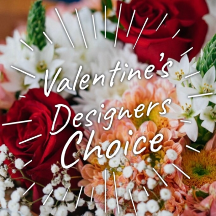 Designer's Choice Vase Valentine's Day