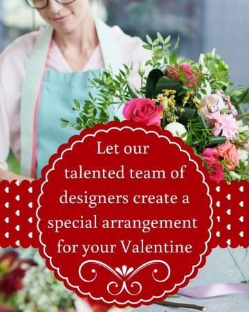 Designer's Choice - Valentine's Day Arrangement