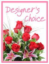 Designer's Choice - Valentine's Day Arrangement