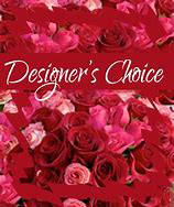 Designers Choice  VAlentines Floral Arrangment