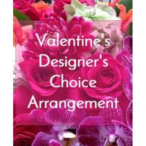 Designers Choice Valentines Flowers