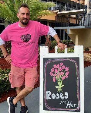 Designer's Choice -Frankie's Special Vase arrangement in Coral Springs, FL   Hearts & Flowers of Coral Springs