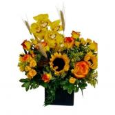Autumn Song Vase arrangement.