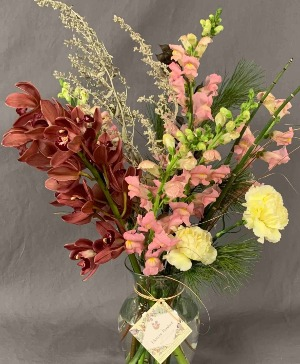 Designer's Choice Vase Arrangement in Hardwick, VT | THE FLOWER BASKET
