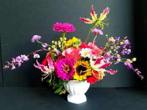 Designers Choice Vase - Rich & Vibrant   in Missouri City, TX | Flower Peddler