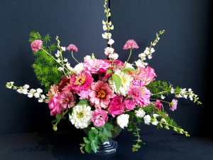 Designers Choice Vase - Soft & Mellow  in Missouri City, TX | Flower Peddler