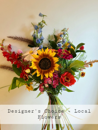 Local Flowers in a Vase - Designer's Choice Vased Arrangement