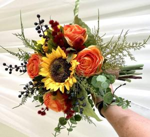Designer's Choice Wrapped Bouquet  in International Falls, MN | Gearhart's Floral And Gifts