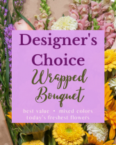 Designers Choice Wrapped Bouquet Wrapped Bouquet