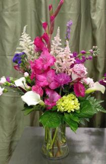 Designer's Spring Bouquet Vase All Occasion