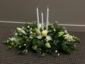 Designers Choice All-White Centerpiece