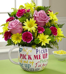 Pick me up Bouquet Desk top
