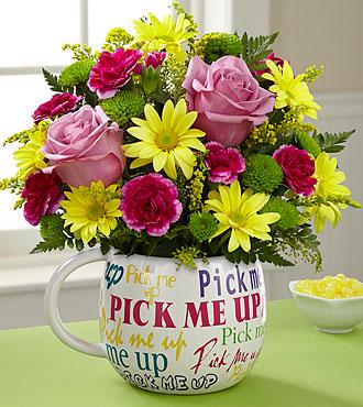 Pick me up Bouquet Desk top