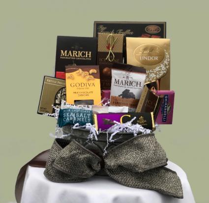 Divine Chocolate Basket Gift Basket