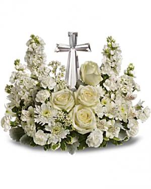 Devine Peace Arrangement  in Paradise, NL | PARADISE FLOWERS & GIFTS