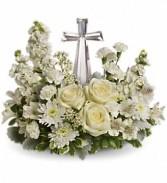 Devine Peace Bouquet           T229-2 fresh keepsake arrangement
