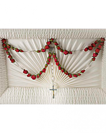 Devinity Rosary Casket adornement