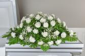 Diamond Devotion Casket Flowers