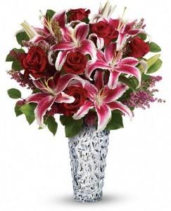 Diamonds an Lilies Bouquet