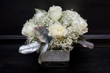 Diamonds Are Your Girl's Best Friend Vase Arrangement