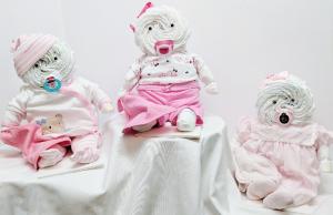 Diaper Baby Girl  in Douglasville, GA | The Flower Cottage & Gifts, LLC
