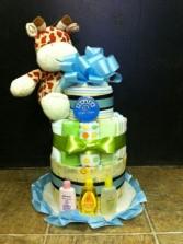 Diaper Cake Giraffe Cake