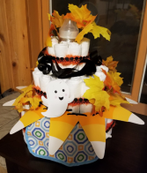 Diaper Cake of Your Own Creation Diaper Cake