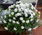 Dignified Carnation Casket Spray Casket Spray