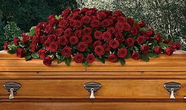 Dignified Tranquility Casket Spray