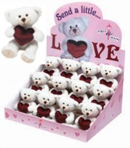 Send a Little Love  Plush Bear 7 Inches in Length