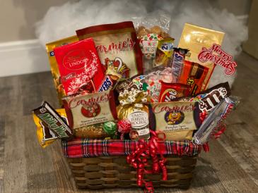 Dinner and Dessert gift basket