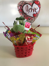 Dino Candy Basket Any Ocassion