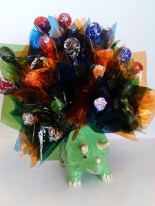 Dino Candy Bouquet   in Fairbanks, AK | A BLOOMING ROSE FLORAL & GIFT