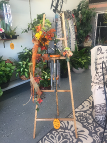 Display Example Windchime Easel