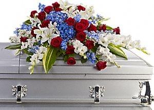 Distinguished Service Casket Spray casket spray