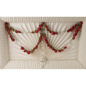 Divine Grace 50-Bead Rosarie  Funeral Flowers in Riverside, CA | Willow Branch Florist of Riverside