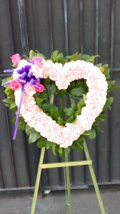 Divine Heart Funeral Flowers