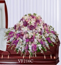 Divine Journey Casket Spray Casket Spray Flowers