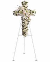Divine Light Funeral Cross