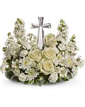 Divine Peace Bouquet Sympathy