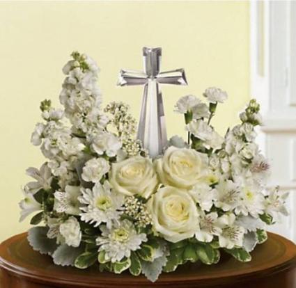 TF Divine Peace Bouquet  Sympathy Arrangement