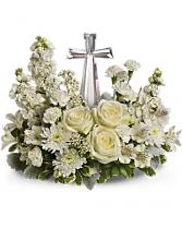 Divine Peace Bouquet Sympathy Flowers / All Occasions