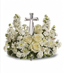 Divine Peace Bouquet Sympathy  in Thibodaux, LA | BEAUTIFUL BLOOMS BY ASIA