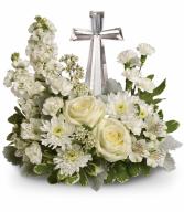 Divine Peace Bouquet T299-2A Sympathy