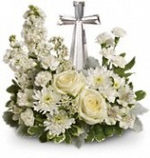 Divine Peace by Teleflora Crystal Cross Keepsake