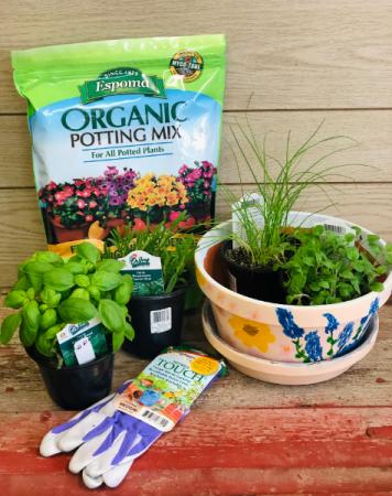 DIY Herb Planting Kit
