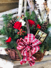 DIY Holiday Centerpiece