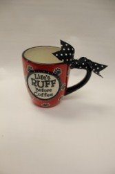 "Dog ""Life's Ruff Before Coffee"" Mug"