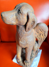 Dog in Heaven Massarelli Fine Stone